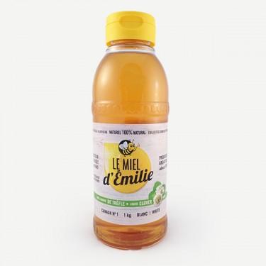 Miel liquide de trèfle 1 kg