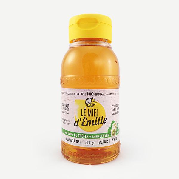 Nos produits les miels du qu bec le miel d milie - Produit contre le trefle ...